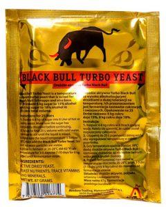 Дрожжи спиртовые Black Bull TURBO