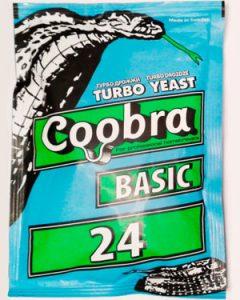 Дрожжи спиртовые Coobra Basic 24
