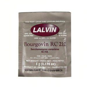 Дрожжи винные LALVIN RC 212, 5г.