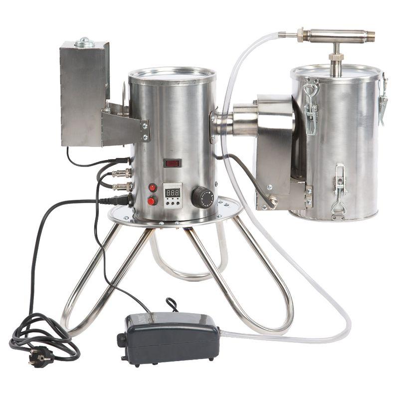 Дымогенератор Smoke Boss (шнековый, компрессор, нерж.)