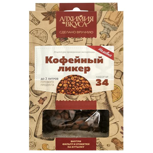 """Набор для настойки Алхимия Вкуса """"Кофейный ликер, 30г."""""""