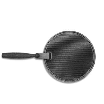 Сковорода Start Grill (круглая с ручкой, чугун)