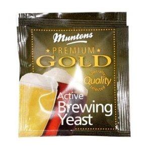 Пивные дрожжи Muntons PREMIUM GOLD, 6 гр.