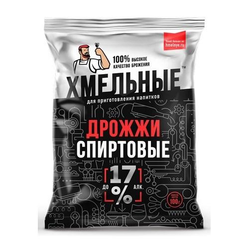 Дрожжи спиртовые ХМЕЛЬНЫЕ, 100г/40