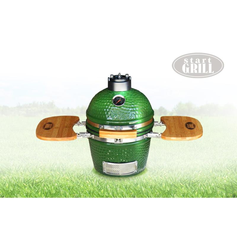 "Гриль-барбекю Start GRILL 12""(31см) (керамика, зеленый)"