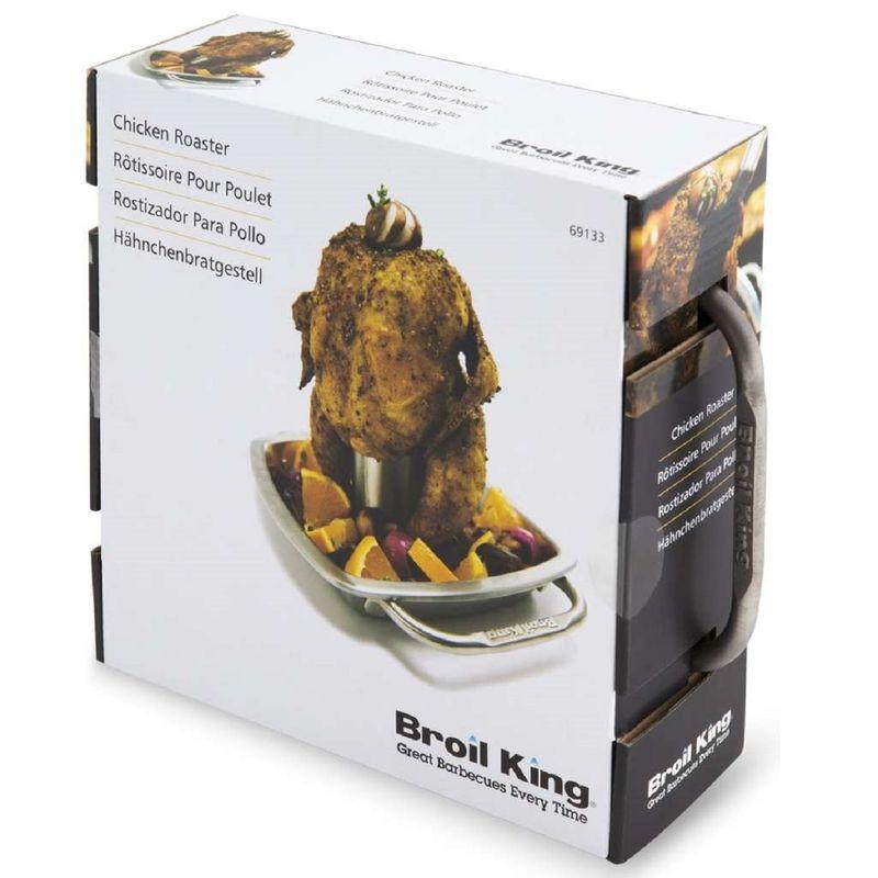 Ростер для курицы с поддоном (Broil King)