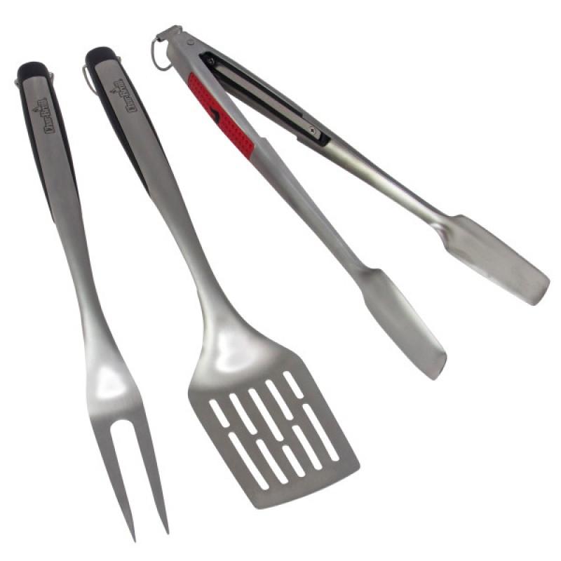 Набор инструментов 3 шт (лопатка+щипцы+вилка)