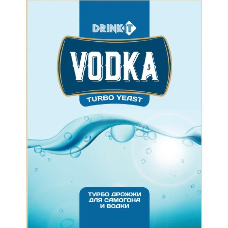 Дрожжи спиртовые Drinkit Vodka, 65г/50