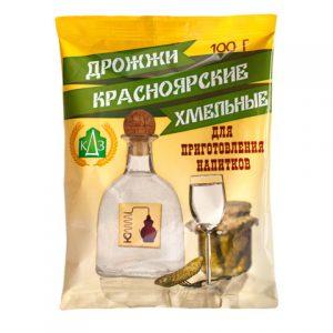 """Спиртовые дрожжи """"Красноярские Хмельные"""" 100гр"""