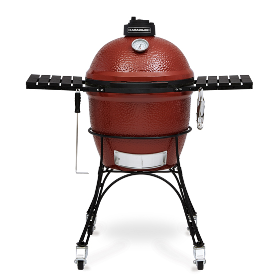 Гриль-барбекю KAMADO JOE Classic Joe Red (керамика, 46см.)