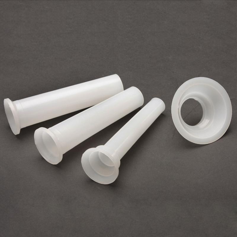 Насадка-трубочка для мясорубки РФ (3шт+диск) 74мм