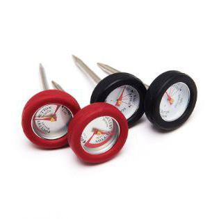 Термометр GP мини (набор 4шт, корпус силикон)