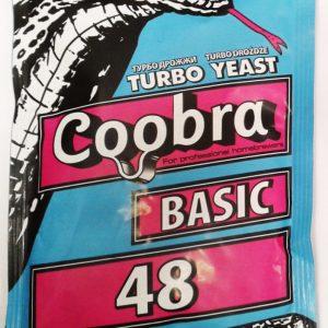 Дрожжи спиртовые Coobra Basic 48, 120г/50