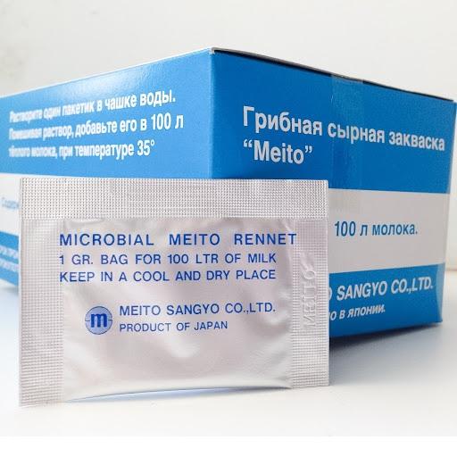 Фермент Пепсин-Ренин MEITO (микробиальн., 1г.- 100л)