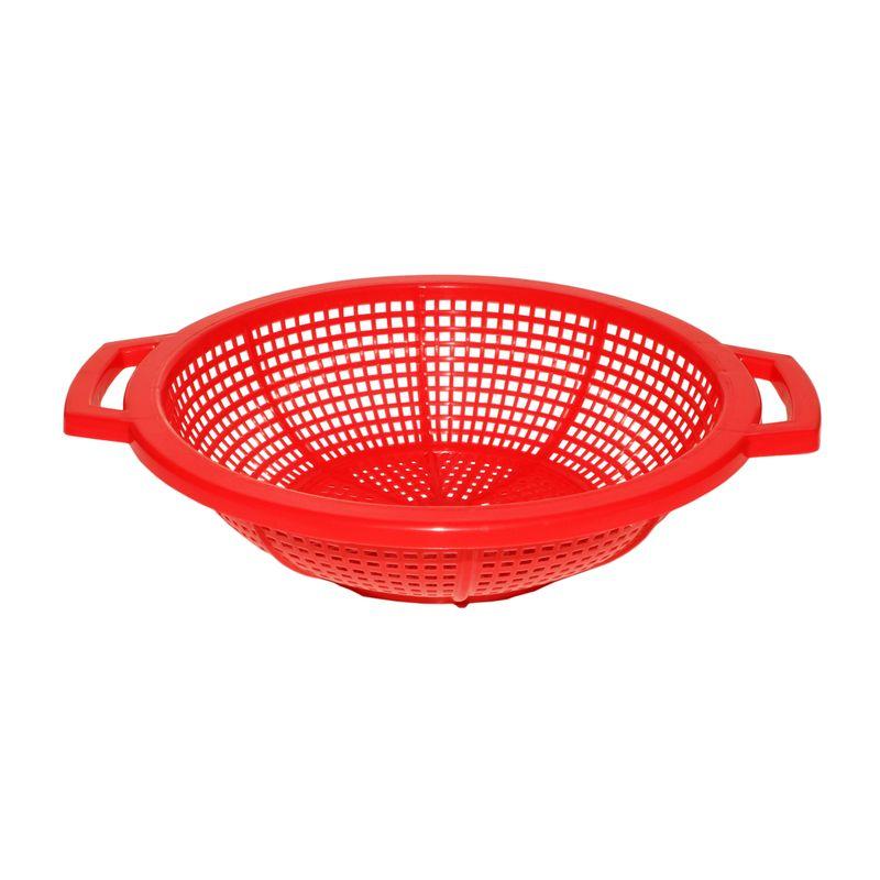 Сыродельница (фруктомойка) D190мм красная