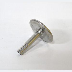 """Переходник кламп 2"""" на штуцер 10 мм (с ёлочкой)"""