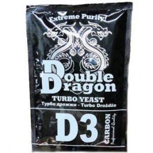 Спиртовые дрожжи Double Dragon D3 Carbon