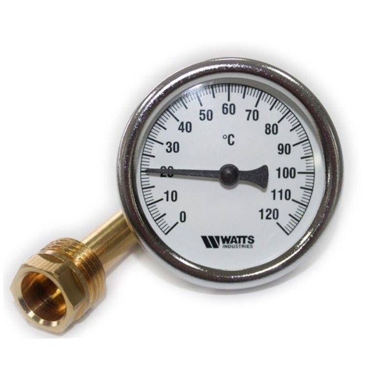 Термометр биметаллический (0..120°C) Watts