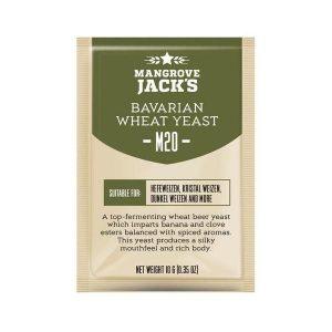 Дрожжи пивные Mangrove Jack's BAVARIAN Wheat M20, 10г.