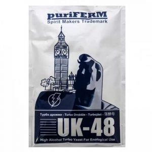 Дрожжи спиртовые PuriFERM UK-48, 135г/40