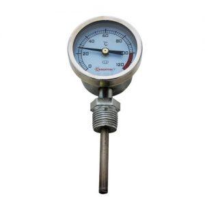 Термометр ПЕКИН радиальный от 0°C до 120°C (биметалл.)